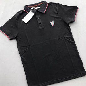 GUCCI men polo shirt BLACK